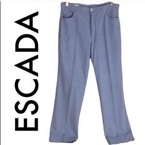 👑 ESCADA LIGHTWEIGHT STRETCH STRAIGHT LEG JEANS